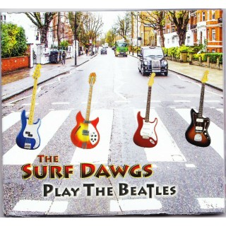 PREORDER - THE SURF DAWGS - PLAYS THE BEATLES - CD