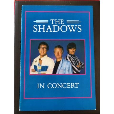 THE SHADOWS - IN CONCERT - CONCERT BROCHURE 1982