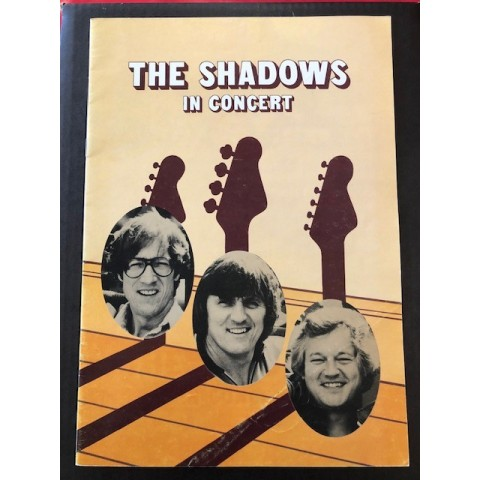 THE SHADOWS - IN CONCERT - TOUR 1982