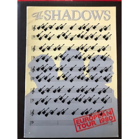 SHADOWS - EUROPEAN TOUR 1980 - BROCHURE