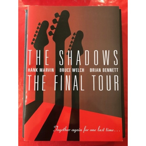 THE SHADOWS - THE FINAL TOUR - CONCERT BROCHURE