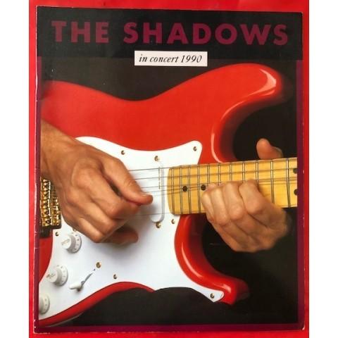 SHADOWS - IN CONCERT 1990 - BROCHURE