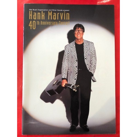 HANK MARVIN - 40TH ANNIVERSARY CONCERT BROCHURE