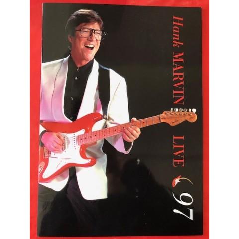 HANK MARVIN TOUR BROCHURE 1997