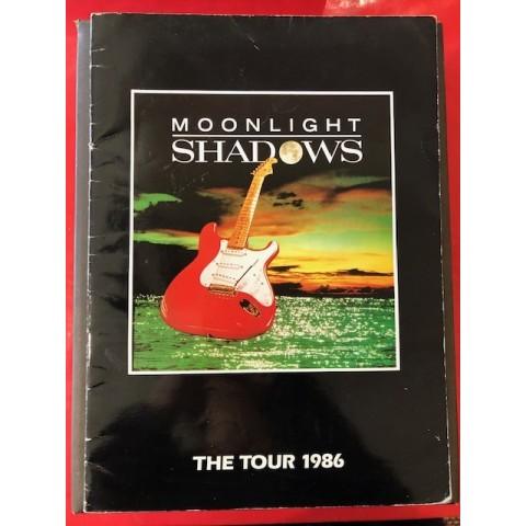 MOONLIGHT SHADOWS TOUR BROCHURE 1986