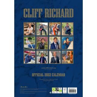 CLIFF RICHARD - OFFICIAL A3 CALENDAR 2022