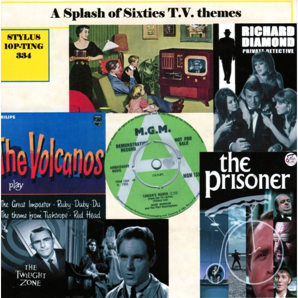 A SPLASH OF SIXTIES TV THEMES - STYLUS - CD
