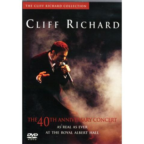 CLIFF RICHARD 40TH ANNIVERSARY DVD