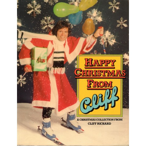 CLIFF RICHARD - HAPPY CHRISTMAS FROM CLIFF - BOOK
