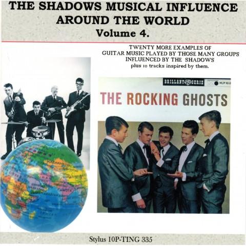 SHADOWS INFLUENCE AROUND THE WORLD VOL 4 - STYLUS CD