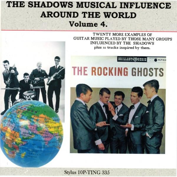 PRE-ORDER. SHADOWS INFLUENCE AROUND THE WORLD VOL 4 - STYLUS CD