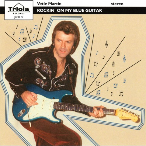 PRE-ORDER - VETLE MARTIN - ROCKIN ON MY BLUES GUITAR -TRIOLA CD