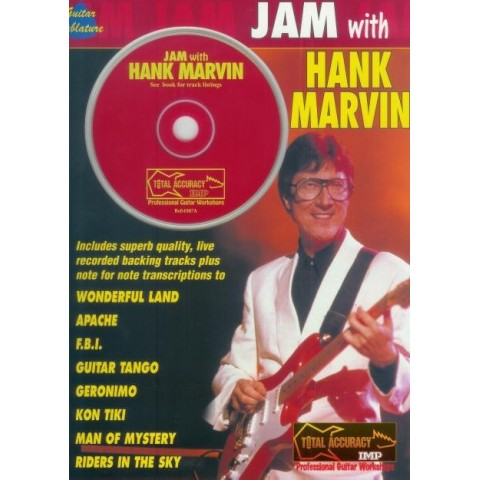 MUSIC FOLIO - JAM WITH HANK MARVIN
