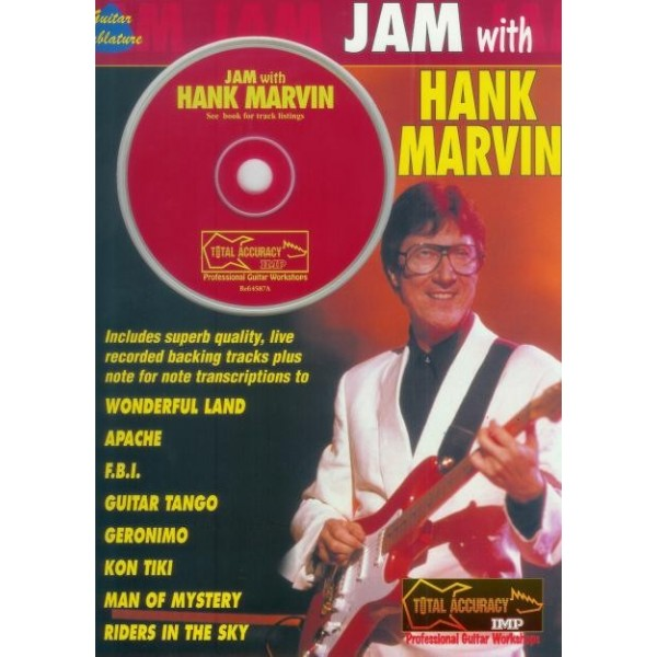 MUSIC FOLIO - JAM WITH HANK MARVIN