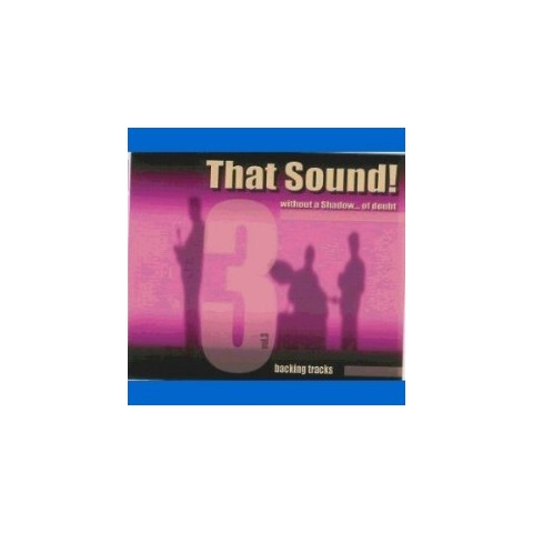 THAT SOUND - WITHOUT A SHADOW OF DOUBT - VOL 3 - MAURIZIO MAZZINI - Backing Track CD