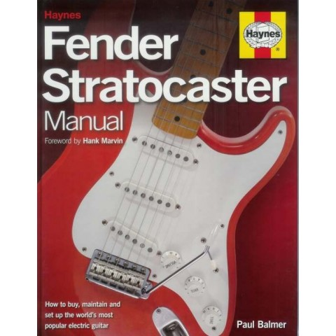 BOOK - FENDER STRATOCASTER MANUAL
