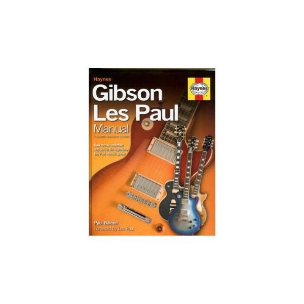 BOOK - HAYNES GIBSON LES PAUL GUITAR MANUAL
