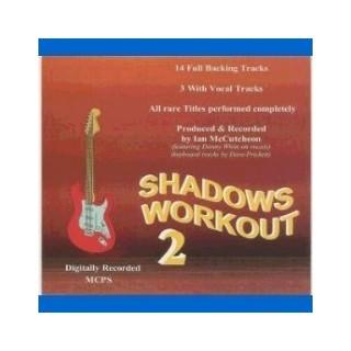 BACKING TRACK CD - IAN MCCUTCHEON - SHADOWS WORKOUT 2