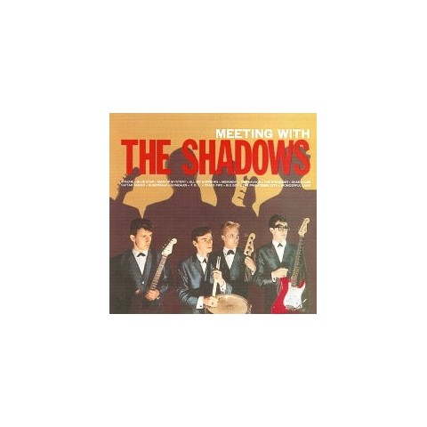 THE SHADOWS - MEETING WITH THE SHADOWS (IMPORT) LIMITED EDITION LP and CD
