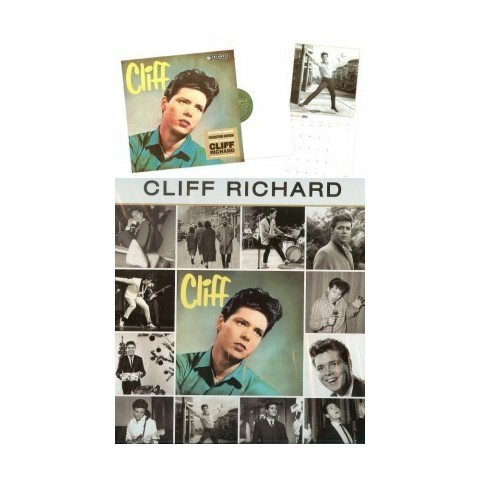 CALENDAR - CLIFF RICHARD 2013 OFFICIAL DANILO CALENDAR COLLECTORS EDITION