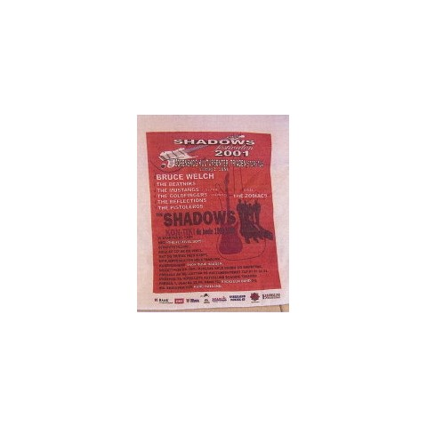 SHADOWS FESTIVAL IN NORWAY 2001 – WHITE SHORT SLEEVED T-SHIRT