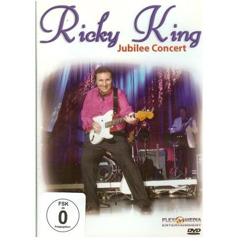 """DVD - RICKY KING  """"JUBILEE CONCERT"""""""