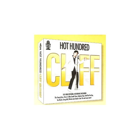 "CLIFF RICHARD - ""HOT HUNDRED""  4-CD Box Set"