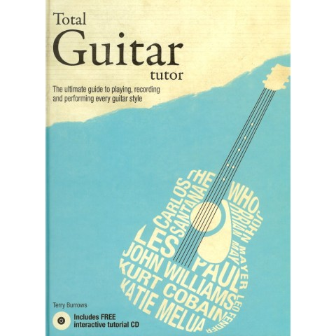 """TOTAL GUITAR TUTOR""  Hardback book &  Interactive CD"