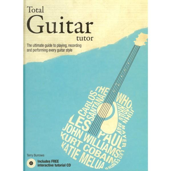 """""""TOTAL GUITAR TUTOR""""  Hardback book &  Interactive CD"""