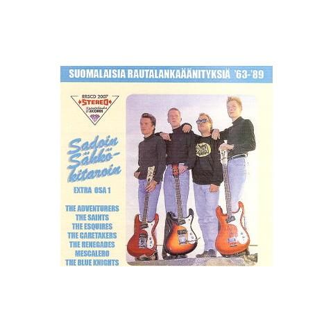 SUOMALAISIA RAUTALANKAAANITYKSIA  '63-'89 - COMPILATION - EXTRA OSA 1 - FINLAND - CD