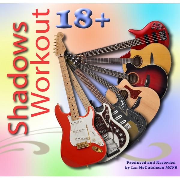 "BACKING TRACK CD - IAN McCUTCHEON - ""SHADOWS WORKOUT 18+"""